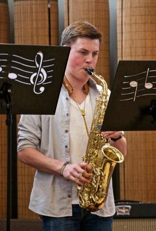 Lars Fauchald Hartmann - altsax/sopransax fra Bærum 17 år