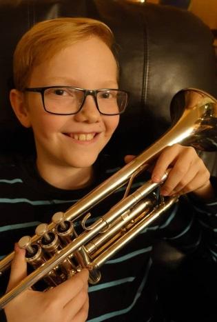 Martin Korslund Mæhle – trompet/flügelhorn fra Bærum 12 år